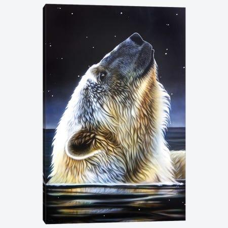 Night Star Canvas Print #SAN54} by Sandi Baker Canvas Wall Art