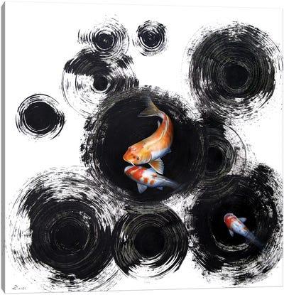 Raindrops Reveal I Canvas Art Print