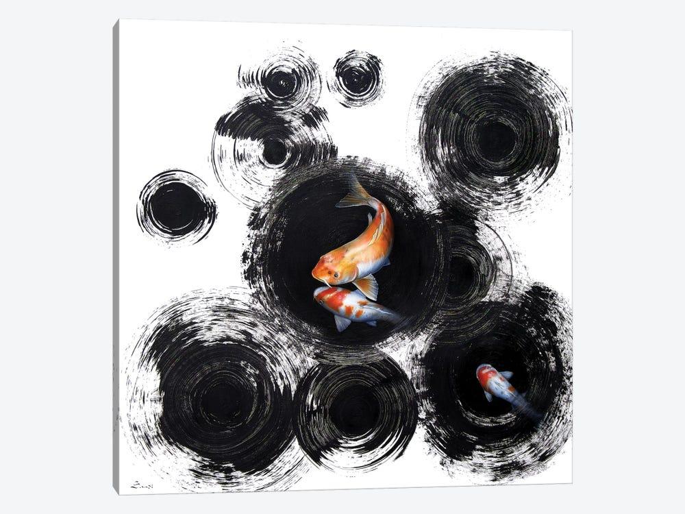Raindrops Reveal I by Sandi Baker 1-piece Canvas Art Print