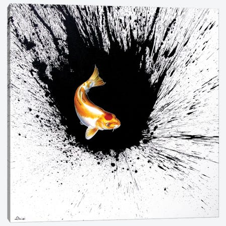 Splash I Canvas Print #SAN65} by Sandi Baker Canvas Art Print