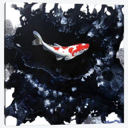 Splash II Canvas Print #SAN66} by Sandi Baker Art Print