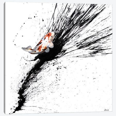 Splash III Canvas Print #SAN67} by Sandi Baker Canvas Art Print