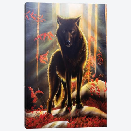 Black Magic Canvas Print #SAN6} by Sandi Baker Canvas Art