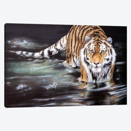 Strength And Soloace 3-Piece Canvas #SAN70} by Sandi Baker Canvas Print