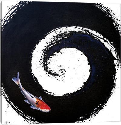 The Spiral II Canvas Art Print