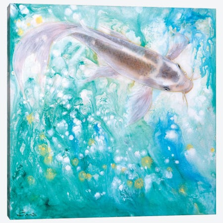 The Spring Canvas Print #SAN85} by Sandi Baker Canvas Art Print