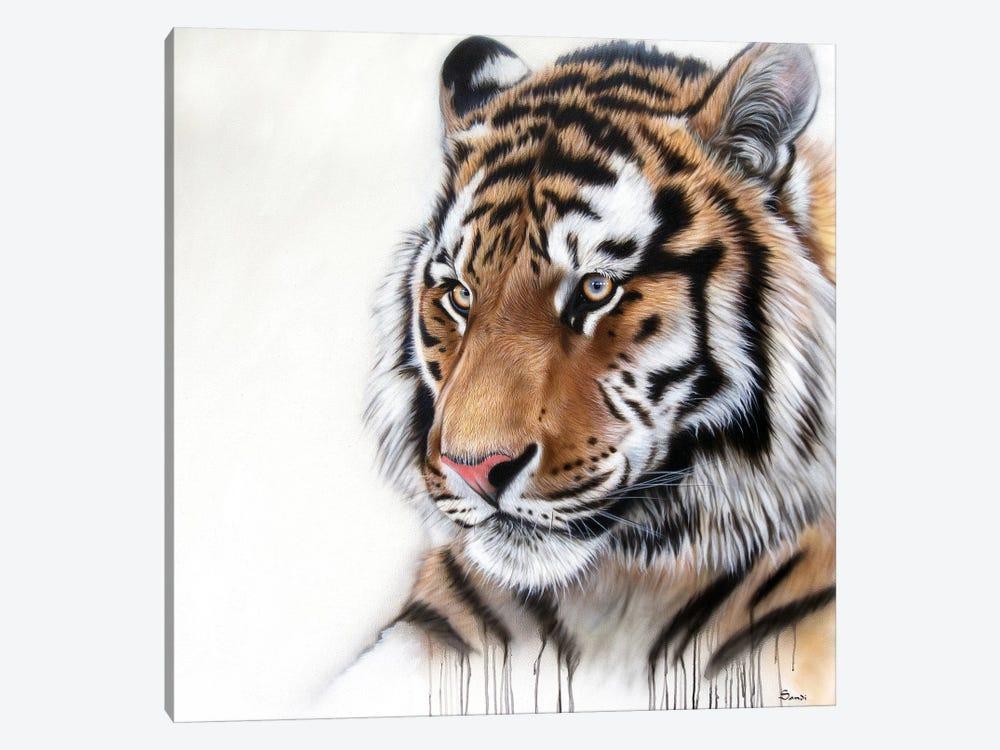 Tiger Portrait I by Sandi Baker 1-piece Canvas Art Print
