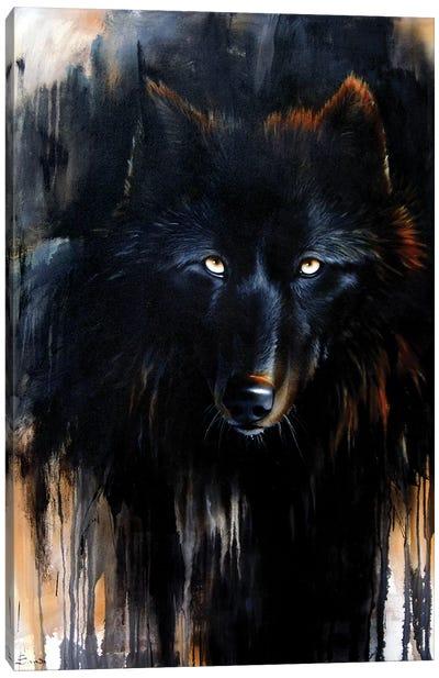 Noir Canvas Art Print