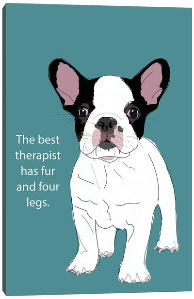 Therapist Canvas Art Print