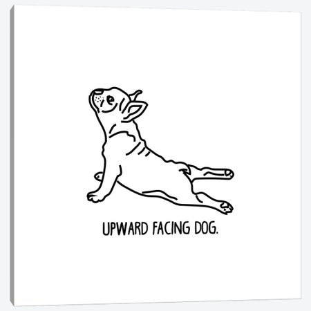 Yoga Dog Canvas Print #SAP109} by Sketch and Paws Canvas Wall Art