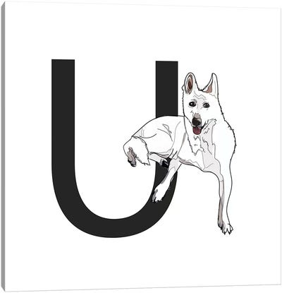 U Is For Utonagan Canvas Art Print