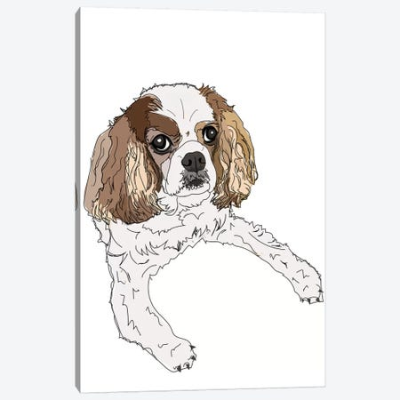 Cavalier Canvas Print #SAP23} by Sketch and Paws Canvas Art