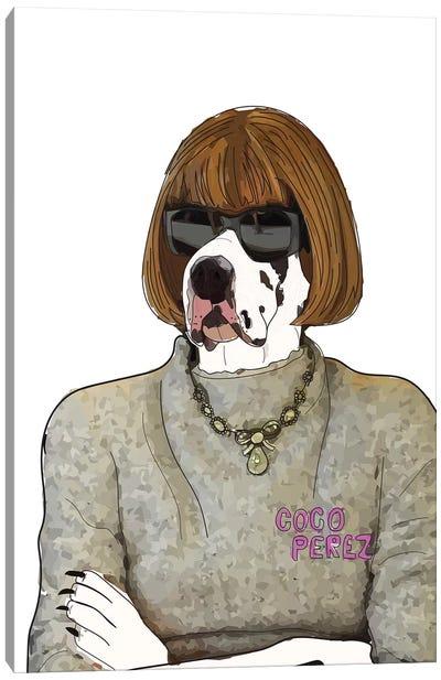 Bark Face Canvas Art Print