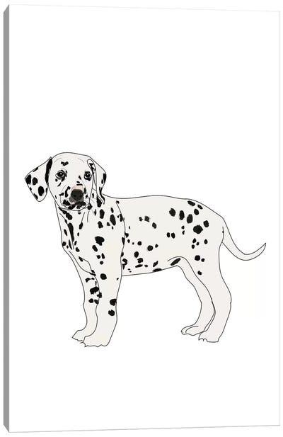 Dalmatian Canvas Art Print
