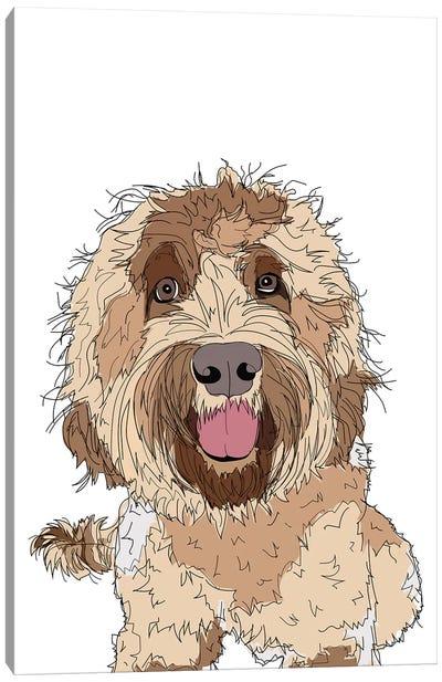 Doodle Love Canvas Art Print