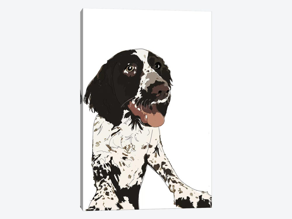 English Springer Spaniel II by Sketch and Paws 1-piece Canvas Wall Art