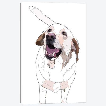 Labrador I Canvas Print #SAP78} by Sketch and Paws Art Print