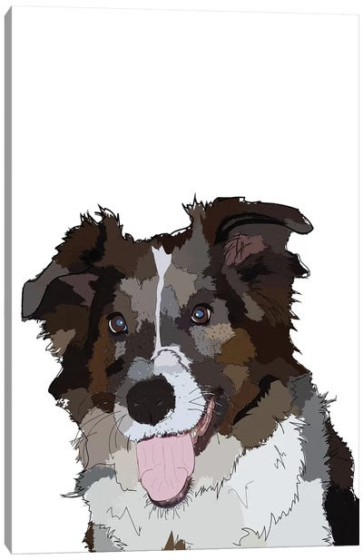 Bella The Dog Canvas Art Print