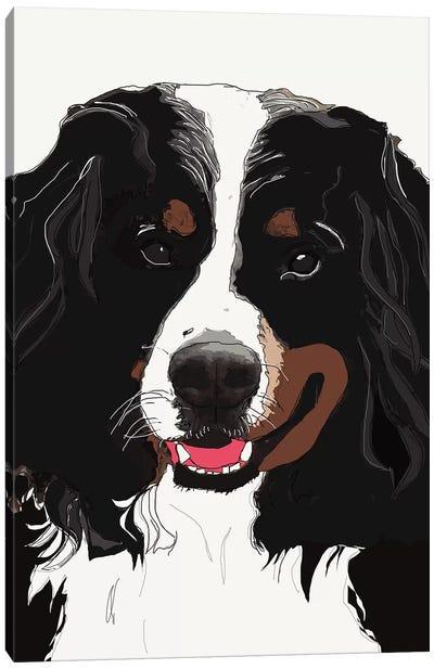 Bernese Mountain Dog I Canvas Art Print