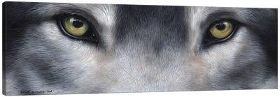 Wolf Eyes Canvas Art Print