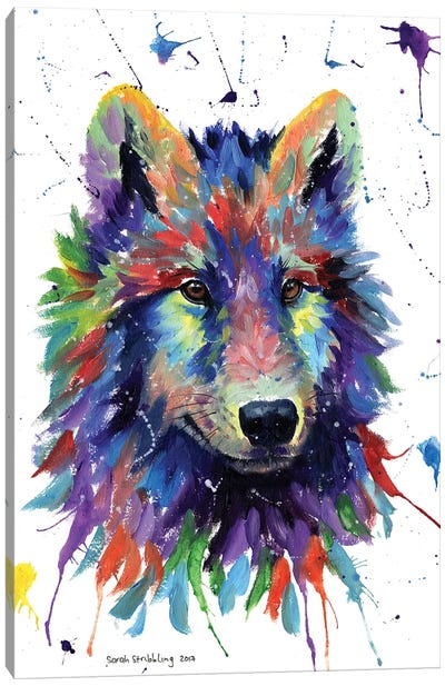 Wolf III Canvas Art Print