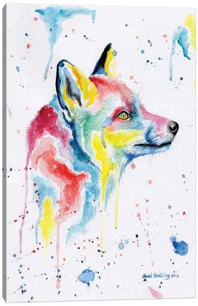 Fox Dream Canvas Art Print