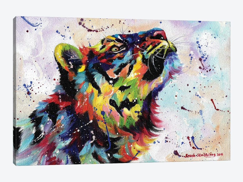 Tiger I by Sarah Stribbling 1-piece Canvas Artwork