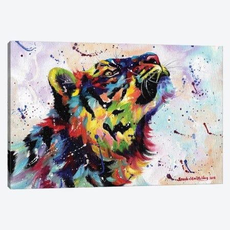 Tiger I Canvas Print #SAS96} by Sarah Stribbling Canvas Print