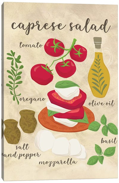 Fresh Flavors I Canvas Art Print