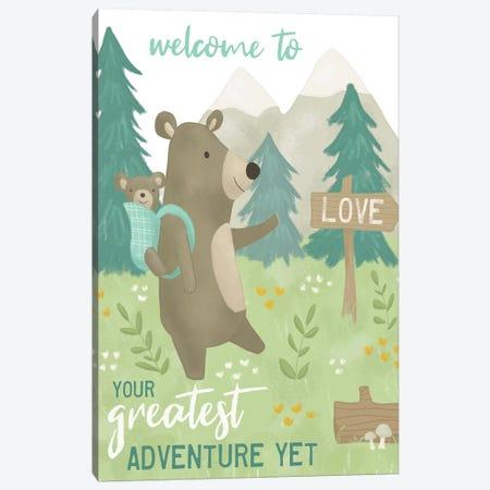 Forest Adventure I Canvas Print #SAU20} by Dana Saulnier Art Print
