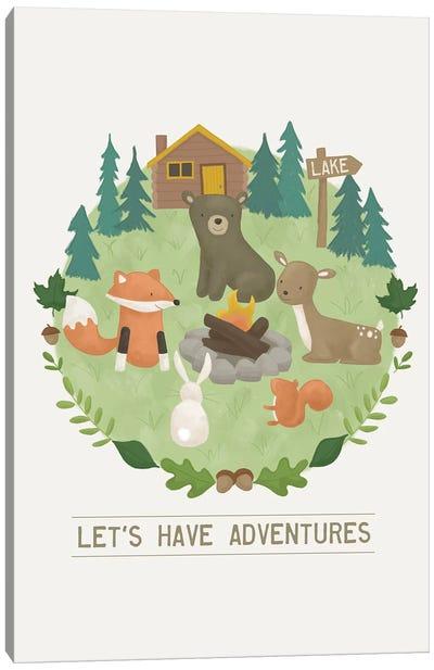 Forest Adventure II Canvas Art Print