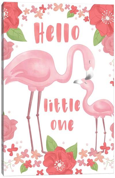 Flamingo Dreams I Canvas Art Print