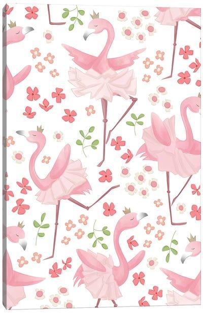 Flamingo Dreams II Canvas Art Print