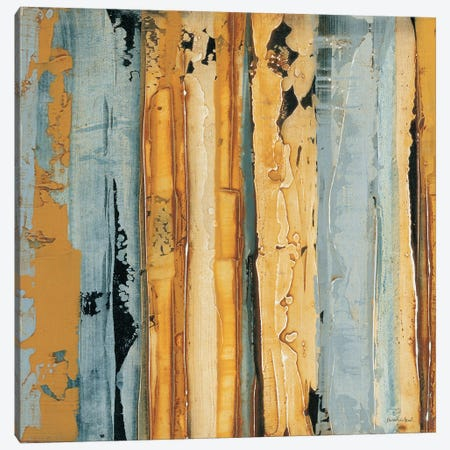 Ochre, Blue Overlay I Canvas Print #SAW1} by Sarah West Canvas Print