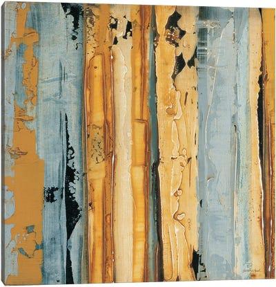Ochre, Blue Overlay I Canvas Art Print