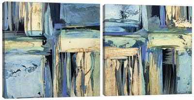 In The Mood Diptych Canvas Art Print