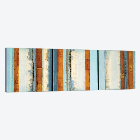 Layers Of Color 3-Piece Canvas #SAW7} by Sarah West Canvas Art
