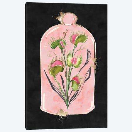 Pretty Scary Venus Flytrap Canvas Print #SBE100} by Sara Berrenson Canvas Print