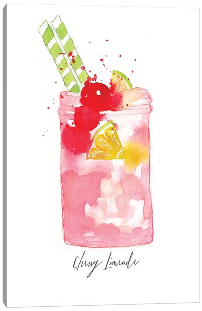 Cherry Limeade Canvas Art Print