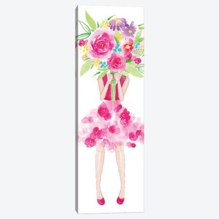 Flower Girl Canvas Print #SBE25} by Sara Berrenson Canvas Artwork