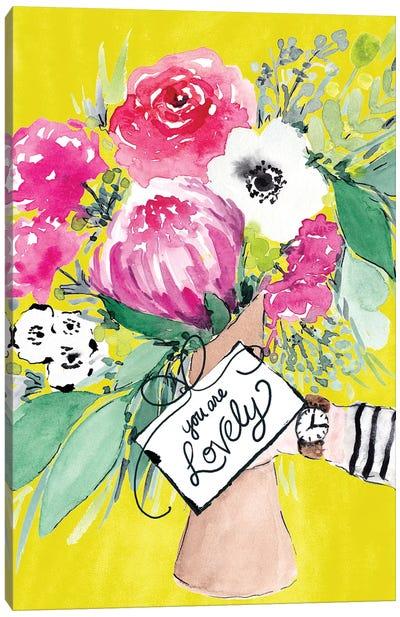 Flower Bouquet II Canvas Art Print