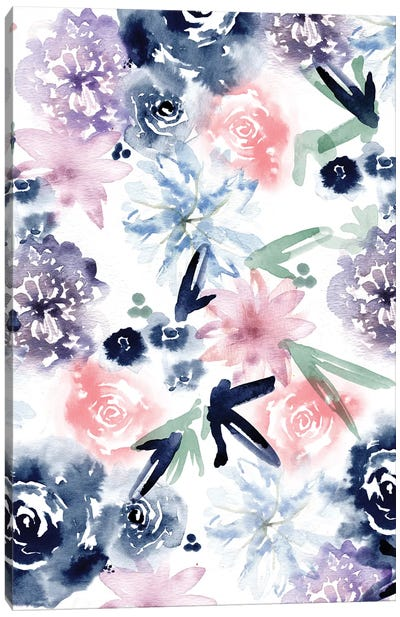Dreamy Floral Canvas Art Print