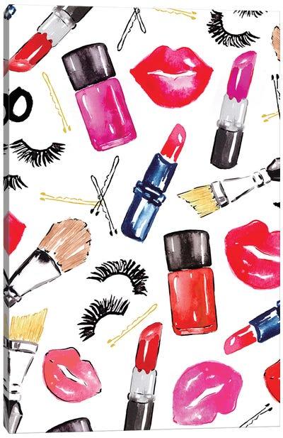 Makeup Canvas Art Print