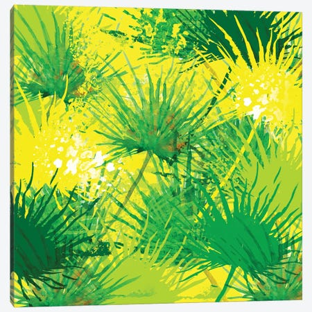 Palms Canvas Print #SBE47} by Sara Berrenson Canvas Art
