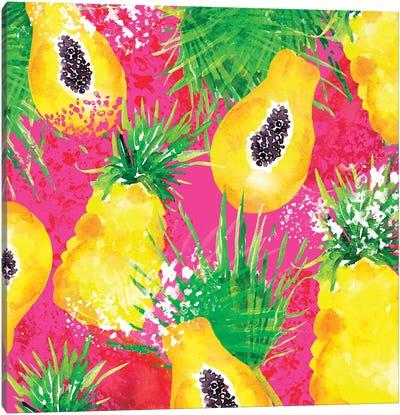 Passionfruit Canvas Art Print