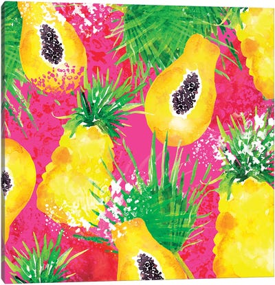 Passionfruit Canvas Art Print