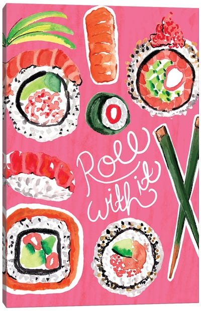 Sushi  Canvas Art Print