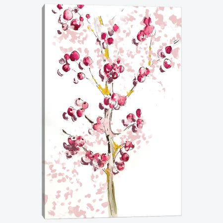 Berries Canvas Print #SBE6} by Sara Berrenson Canvas Artwork