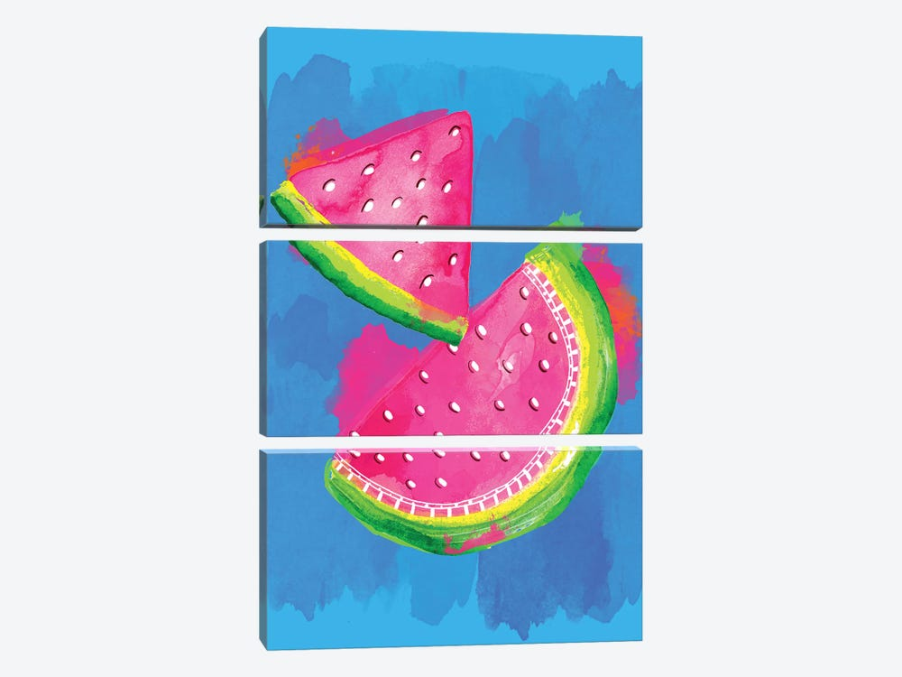 Watermelon by Sara Berrenson 3-piece Canvas Wall Art