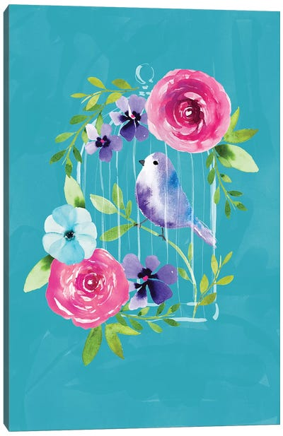 Birdcage Canvas Art Print